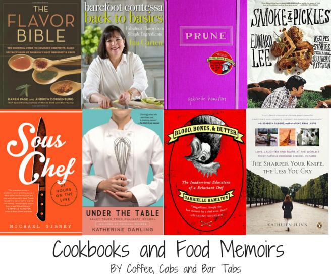 Cookbooks and Food Memoirs